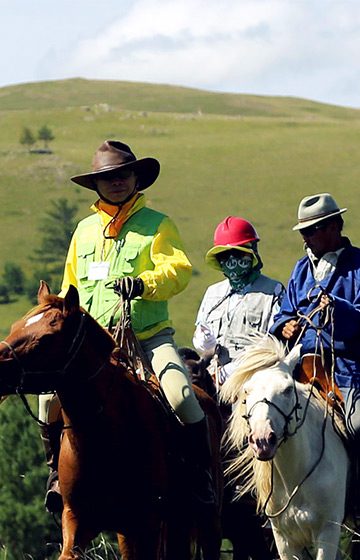 몽골에서 말타기 2018