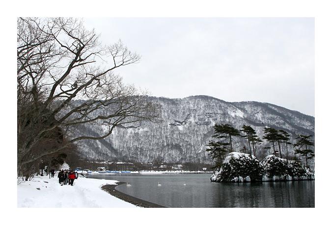 \'푸른숲\' 아오모리 온천 명상여행4 : 도와다 호수 걷기명상