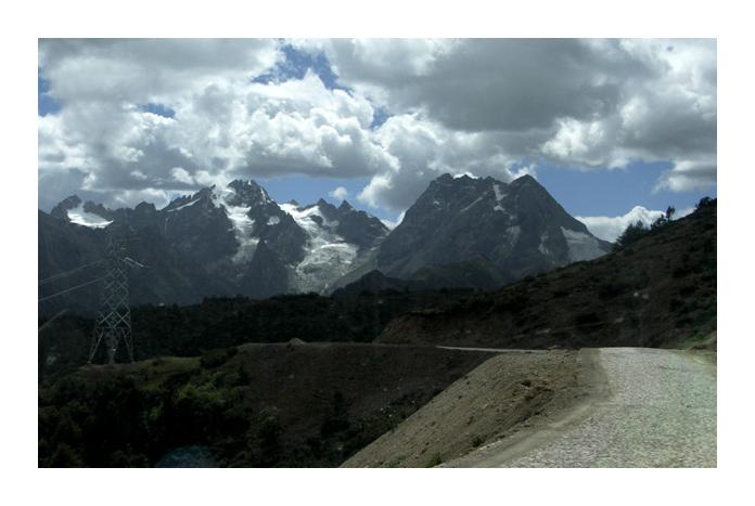 샹그릴라 티벳 휴식명상여행9 : 백마설산(白馬雪山) 앞에서